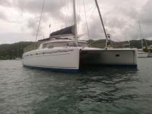Fountaine Pajot Belize 43 : At anchor in Martinique